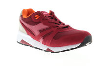 Diadora N9000 III 171853-C7739 Mens Red Suede Lace Up Low Top Sneakers Shoes 7.5