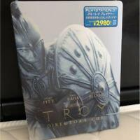 Troy Director's Cut Blu-ray Steelbook from Japan AUDIO Free Shipping