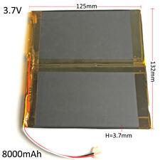 3.7V 8000mAh Li-Po Polymer Rechargeable Battery For Tablet PC DVD PSP 37132125