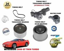 FOR MITSUBISHI 3000 GT Z16A 1994-2000 NEW TIMING BELT TENSIONER KIT + WATER PUMP