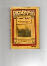 CROYDON WITH ITS SURROUNDINGS [4th edn. A H Anderson. c 1920]