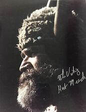 Hub Meeds, Minnesota Vikings Original Mascot Color 8x10 #3 with COA (RARE)