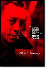 Albert Camus Impresión de Arte Foto Afiche Regalo citar absurdism
