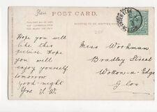 Miss Workman Bradley Street Wotton Under Edge 1904 167a