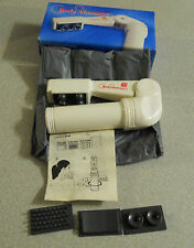 Vintage Shye MT-002 Body Massager With Attachments Carrying Bag & Original Box