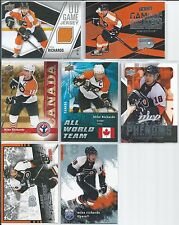 Mike Richards  8-Lot includes Inserts & Jersey