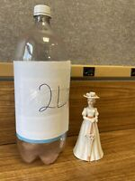 Enesco Figural Porcelain Hand Bell Mary Poppins with Umbrella - Julie Andrews