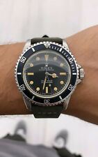 Rolex 5513 Submariner Pumpkin Patina Matte Dial 1967 Vintage 100% Original