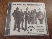 cd album ben harper & the innocent criminals lifeline