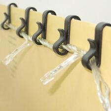 50 Mini Gutter Hooks Clip Hanging Birthday Party Led Lights House Garage
