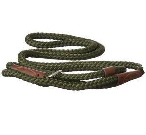 REMINGTON DOG Braided Nylon SLIP Leash Colors 3' & 6' Hunting Training Pets NEW!