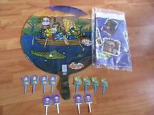 Wild Thornberrys Party Supplies Balloon Table Cover Pick 3pc Lot 2000 NOS