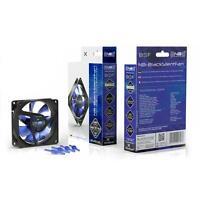 Noiseblocker NB-BlackSilent Fan X-2 80mm Ultra Silent Fan, 1800rpm, 3 pin,18 dBA
