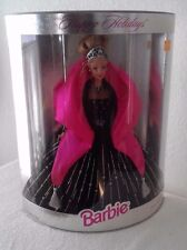 1998 Happy Holiday Barbie Doll, Christmas Holiday's Winter