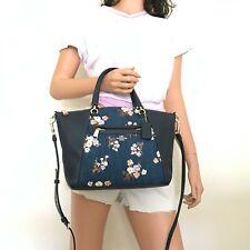 Новый с ценниками Coach небольшие прерии джинсовая цветочный сумка через плечо сумка 91045