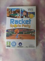 Racket Sports Party - Table Tennis, Badminton, Squash - Nintendo Wii / Wii U