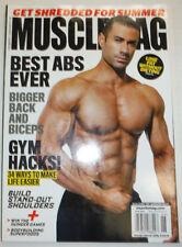 Musclemag Magazine Best Abs Ever Alexander M. Carneiro June 2014 NO ML 121614R2