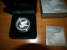 2015 5 Oz Wedge-tailed Eagle high relief silver proof $ 8 Australia Australien