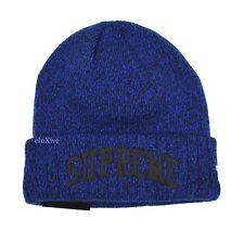 35e255152 supreme blue beanie hat | eBay