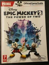 Disney Epic Mickey 2 The Power of Two Prima Official Game Guide