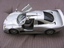 "Mercedes-Benz CLK-GTR AMG Street Version ""Silver"" MAISTO 1:26 GT-Racing Edition!"