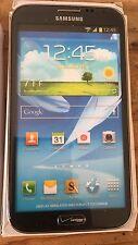 (1) Samsung Galaxy Note II VERIZON Black Mock Up Display Phone NON-FUNCTIONING