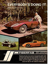 1969 FIBERFAB GT-12 & GT-15 BODY KIT  ~  GREAT ORIGINAL PRINT AD