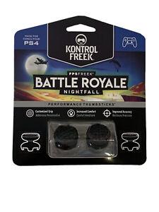 KontrolFreek Battle Royale Nightfall Thumbsticks PS4 PS5 Black FPS PlayStation