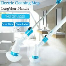 Electric Spin Scrubber Turbo Scrub Cleaning Brush Cordless Rechargeable Cleaner