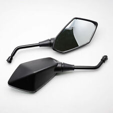Black Motorcycle Side Mirrors For kawasaki Z1000 Z750 Zephyr 1100 ZRX1200 ER-6N