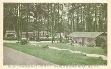 Briarcliffe Motor Hotel Myrtle Beach South Carolina Roadside Postcard 11744
