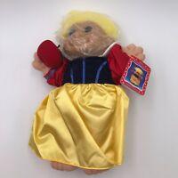 Vintage Russ Troll Kidz Snow White  Doll - Princess - Yellow Hair - NOS