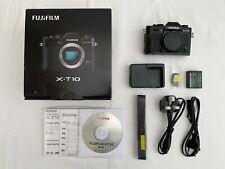 Fuji Fujifilm X-T10 16MP Digital Camera Body Only - Black