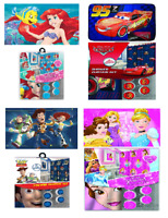 Disney Bathroom Set Shower Curtain Memory Mat Toy Story Cars Ariel Princess Star