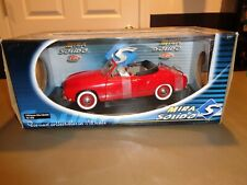 NEW Mira by Solido VW Karman Ghia Cabriolet Convertible Car Die Cast 1:18 Red