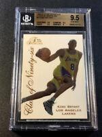 KOBE BRYANT 1996 FLEER FLAIR SHOWCASE #4 CLASS OF NINETY-SIX ROOKIE BGS 9.5 NBA