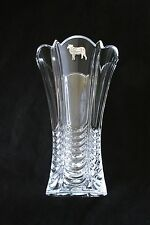 Butcher Sheep Vase Flower Table Vase  Cut Crystal Glass Butchers Gift