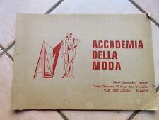 ALBUM DA DISEGNO ACCADEMIA DELLA MODA 1976 schizzi disegni usato illustrazioni