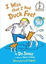 Beginner Books: I Wish That I Had Duck Feet by Dr. Seuss (1965, Hardcover)