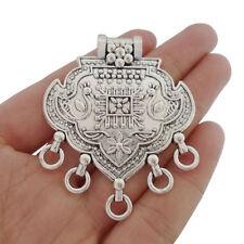 2pcs Antique Silver Large Bohemian Boho Chandelier Connector Charms Pendants