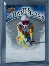 2009-10 Upper Deck The Champions #CH-KG Kerrin Lee-Gartner Alpine Skier Canada