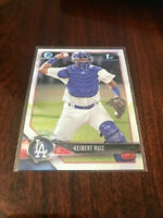2018 BOWMAN CHROME 1ST CARD RC KEIBERT RUIZ LOS ANGELES DODGERS ROOKIE C5584-2