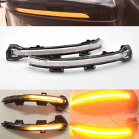 Sweeping dynamic LED wing door mirror indicator light lamp For vw Golf Mk 7 +GTi