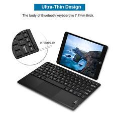 Universal Ultra-Slim Wireless Bluetooth Keyboard W/Trackpad For Android Windows