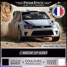 Stickers Pare Soleil Nascar Cup Rallye ; Auto Autocollant Voiture Racing