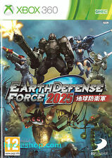 Earth Defense Force 2025 Microsoft Xbox 360 12+ Action Game