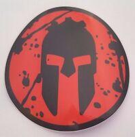 "NEW Spartan 3"" (Sprint) RED - Decal Sticker"