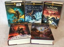 The Heroes of Olympus by Rick Riordan First Editions Book Lot of 5