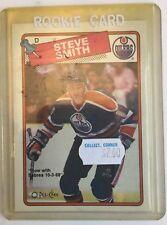 Steve Smith 1988-89 O-Pee-Chee RC #252  - Edmonton Oilers