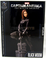 Captain America Winter Soldier Scarlett Johansson as Black Widow Statue 23cm